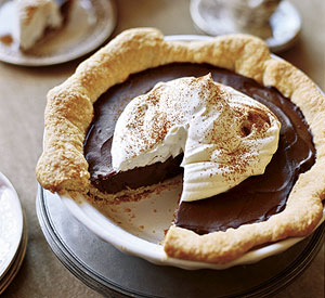 chocolate silk espresso pie