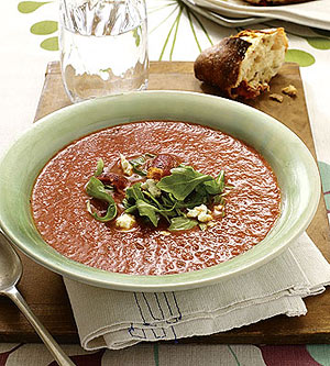 Roasted BLT Soup