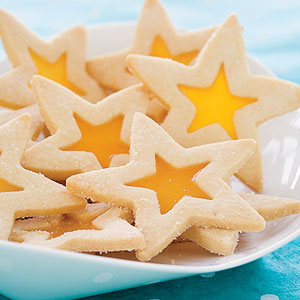 Stained-Glass Star Cookies