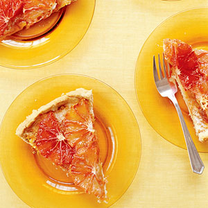 Broiled Grapefruit Tart