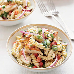 Grilled-Chicken Pasta Salad