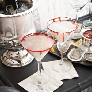 Halloween Wedding Pary Martinis