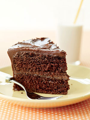 ?50s Double Fudge Layer Cake