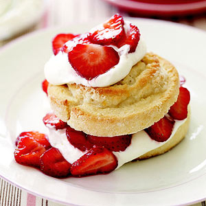 '60s Strawberry Swirl Shortcakes
