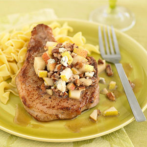 Pork with Pear Salsa