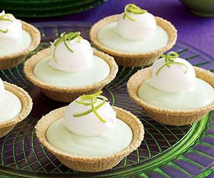 Lime-Chiffon Mini Pies