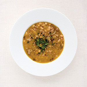 Chunky White Bean Soup