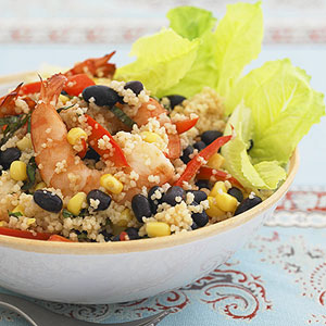 Shrimp & Bean Couscous