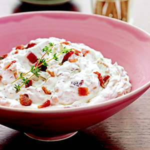 Caramelized Onion-Bacon Dip