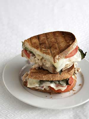 Tuna and White Bean Panini