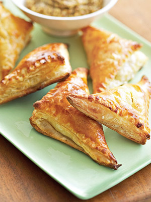 Ham and Gruyere Mini Turnovers