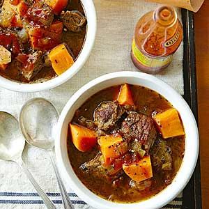 Sweet-Heat Beef Stew
