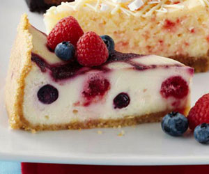 Very Very Berry Cheesecake