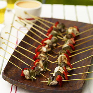 Chicken Appetizer kebabs