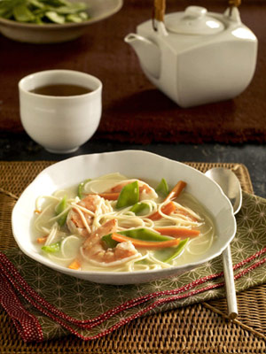 Asian Shrimp and Coconut Soup