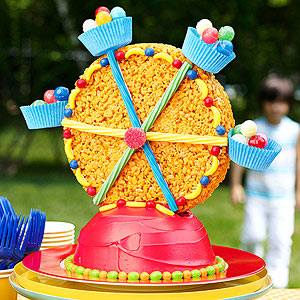 Carnival birthday cake ideas quick please babycenter for Amusement park decoration games