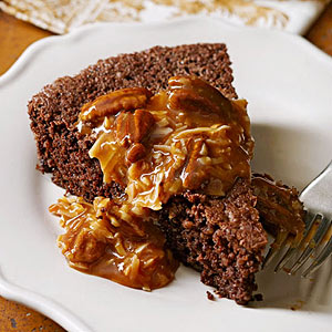 German Chocolate-Nut Cake