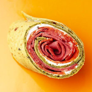 Savory Cream Cheese Spread with Party Wraps