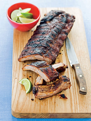 Gone-In-A-Minute Rubbed Ribs