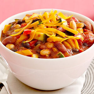 3-bean chili