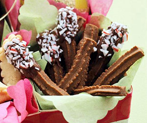 Chocolate Cream Spritz Cookies