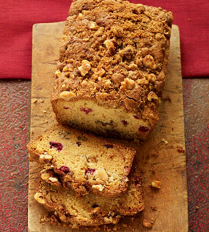 Streusel Apple Bread