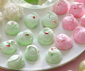 Mint Meringues