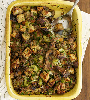 Regina Ragone's Sausage Stuffing