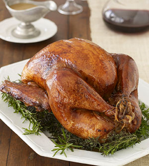 Michael Tyrrell's Mahogany Roast Turkey