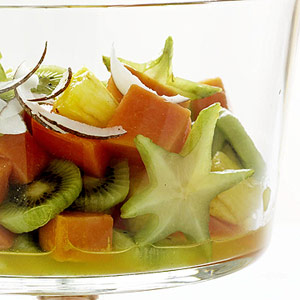 Five Spiced Tropical Fruit