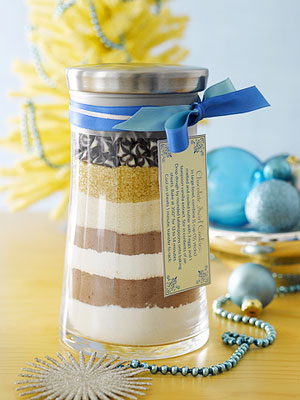 Homemade Holiday Cookie Mix