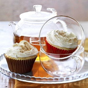 Chai Cupcakes