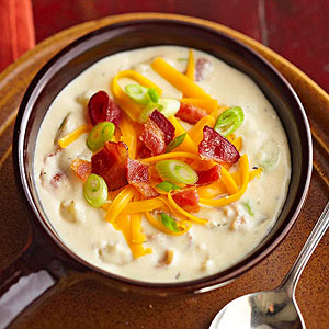 Bacon and Baked Potato Soup | Midwest Living