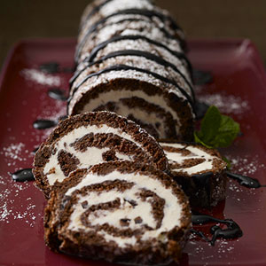Ice-Cream Cake Roll