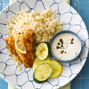 Cajun Catfish and Remoulade