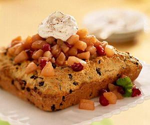 Pear-Cranberry Shortcake