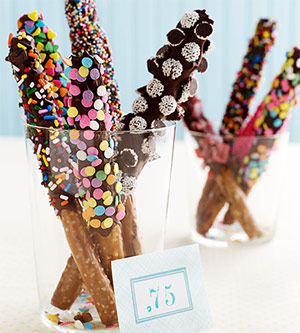 Chocolate-Covered Pretzel Rods