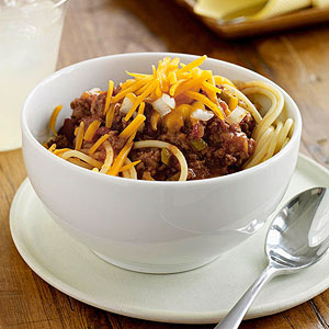 Cincinnati-Style 5-Way Chili