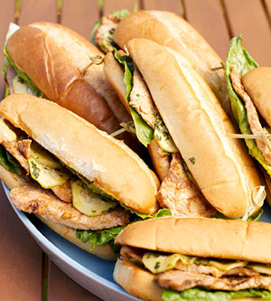 Asian Street Sandwiches