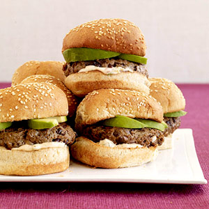 Black Bean Chili Burgers