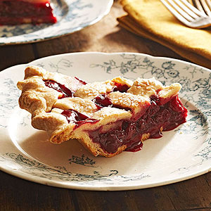 Michigan Tart Cherry Pie 