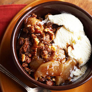 Ginger-Cinnamon Apple Crisp