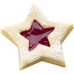 Shining Star Sandwich Cookies