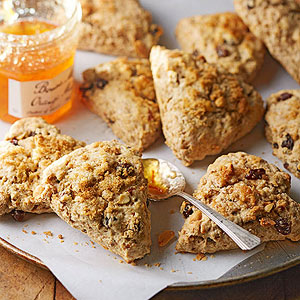 Peanut Butter Breakfast Scones