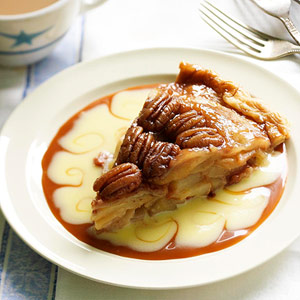 Upside Down Apple-Pear Pie