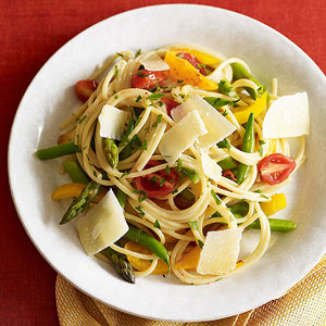 Healthy Pasta Primavera