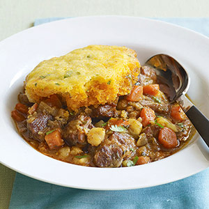 Pork Posole and Corn Bread Stew