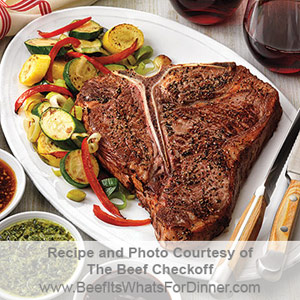 Grilled T-Bone Steak for Two Recipe