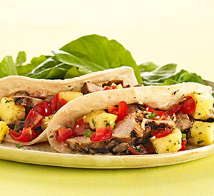 Pork Tacos with Pineapple Salsa