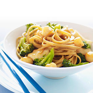 Scallop & Broccoli Toss